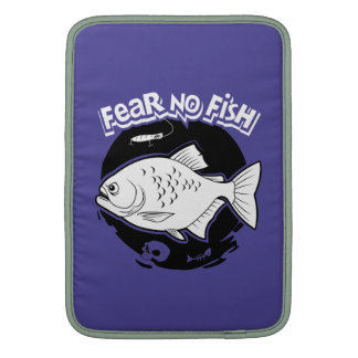 Fear No Fish MacBook Sleeve