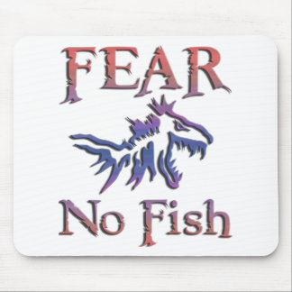 FEAR NO FISH MOUSE PAD