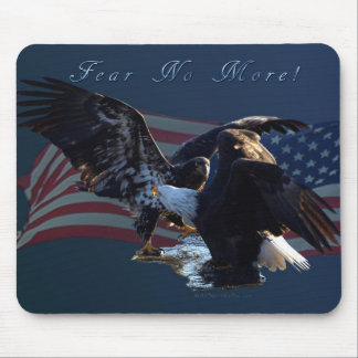 Fear No More Eagle US Flag Gift Mouse Pads