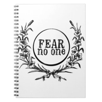 Fear No One Notebook