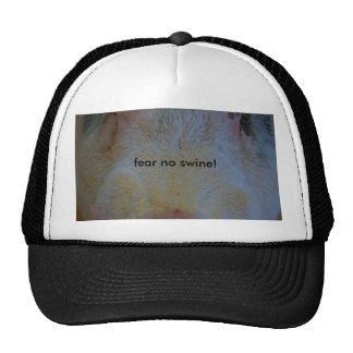 fear no swine mesh hat
