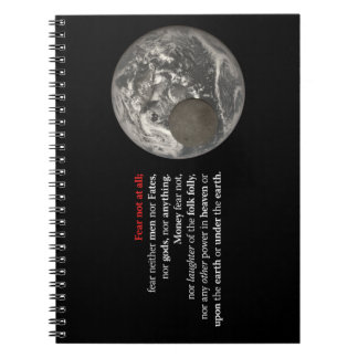 Fear Not at All Spiral Notebook