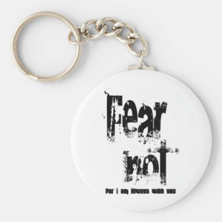Fear Not Christian Keychain