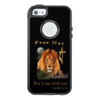 Fear not for I am with thee OtterBox iPhone 5/5s/SE Case