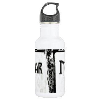 Fear Not Stainless Steel Water Bottle