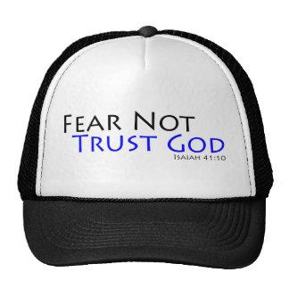 Fear Not, Trust God Trucker Hat