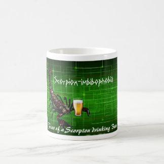 Fear of a Scorpion drinking Beer Coffee Mug