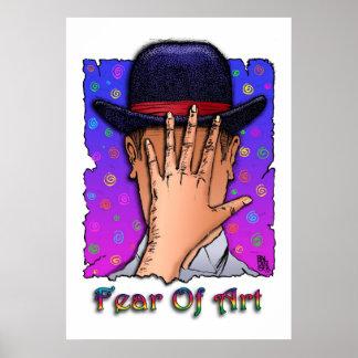 Fear Of Art Poster