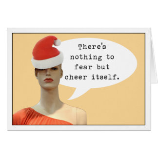 Fear of Cheer Card
