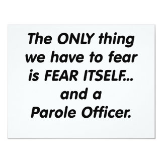 fear parole officer card