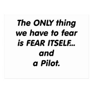 Fear Pilot Postcard
