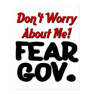 fear postcard