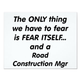 fear road construction mgr card
