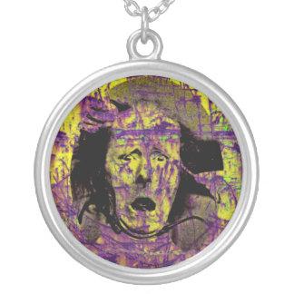 Fear Round Pendant Necklace