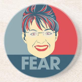 Fear Sarah Palin Drink Coasters