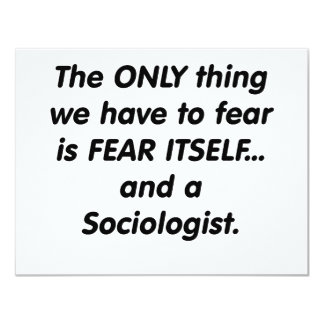 fear sociologist card