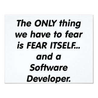 fear softwar developer card