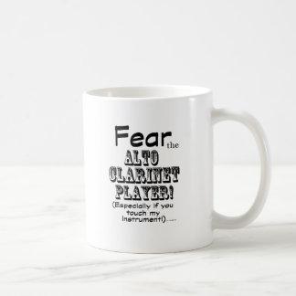 Fear the Alto Clarinet Coffee Mug