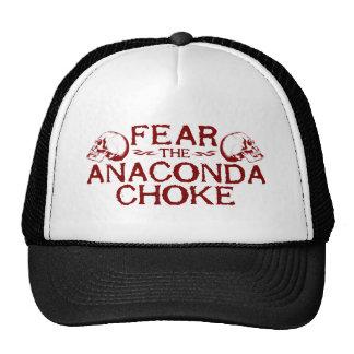 Fear the Anaconda Choke Trucker Hat