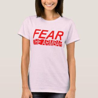 FEAR THE ARMBAR LADIES BABYDOLL T-SHIRT