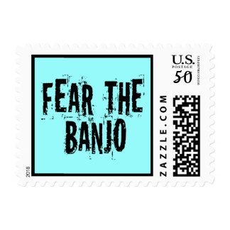 Fear The Banjo Postage