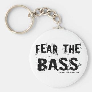 Fear the Bass Keychain