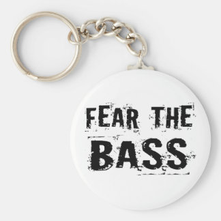Fear the Bass Keychains