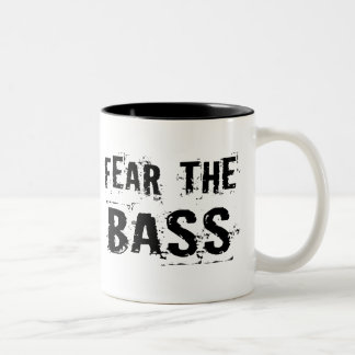 Fear the Bass Two-Tone Coffee Mug