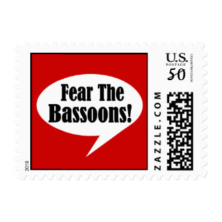 Fear The Bassoons Postage