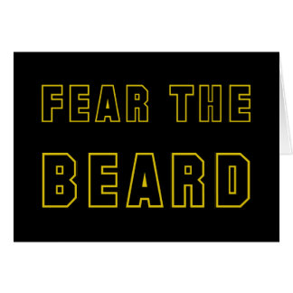 FEAR THE BEARD CARD