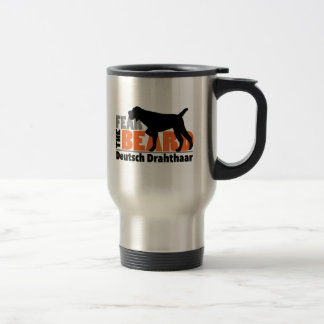Fear the Beard - Deutsch Drahthaar Travel Mug