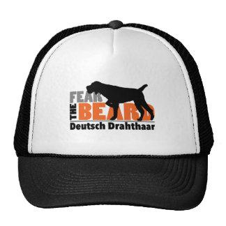 Fear the Beard - Deutsch Drahthaar Trucker Hat