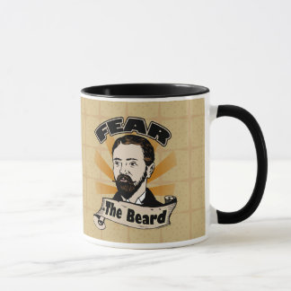 Fear the Beard, Funny Mustache Mug