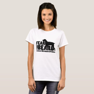 Fear the Beard - German Wirehaired Pointer Gear T-Shirt