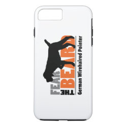 Fear the Beard - German Wirehaired Pointer iPhone 8 Plus/7 Plus Case