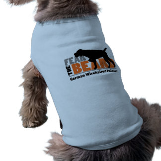 Fear the Beard - German Wirehaired Pointer Tee