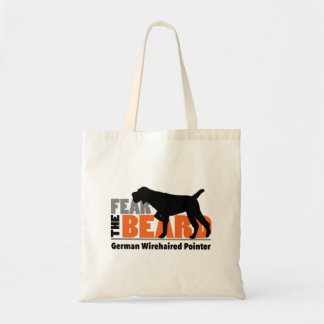 Fear the Beard - German Wirehaired Pointer Tote Bag