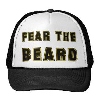 FEAR THE BEARD TRUCKER HATS