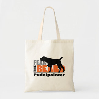 Fear the Beard - Pudelpointer Tote Bag