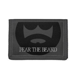 Fear the beard wallet for men