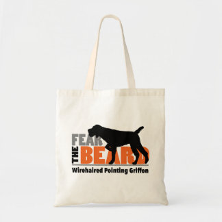 Fear the Beard - Wirehaired Pointing Griffon Tote Bag