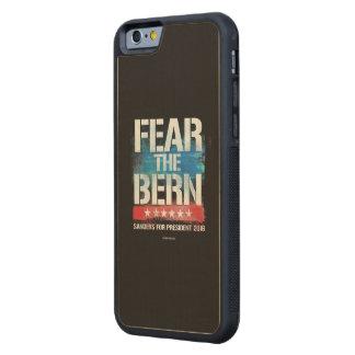 Fear the Bern Carved® Maple iPhone 6 Bumper