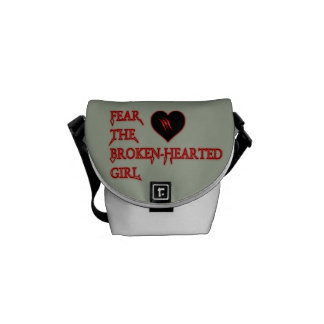 Fear-the-broken-hearted Courier Bag