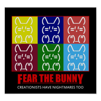 FEAR THE BUNNY POSTER