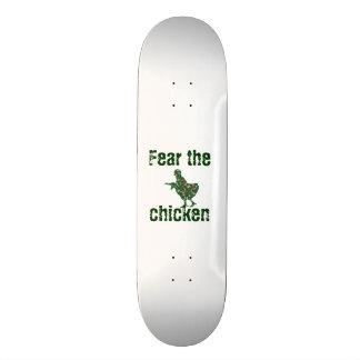 fear the chicken skateboard