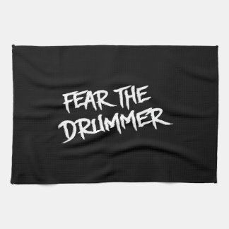 Fear the Drummer Hand Towels