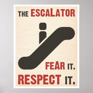 Fear the Escalator Print