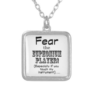 Fear The Euphonium Player Pendant