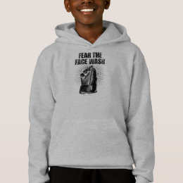 Fear The Face Wash (Hockey) Hoodie