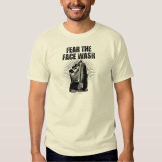 Fear The Face Wash (Hockey) Shirt